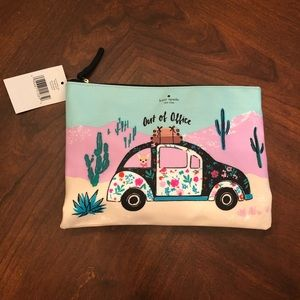 NWT Kate Spade Out of Office clutch